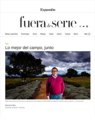 Revista FUERA DE SERIE (EXPANSIÓN) Mayo-2016